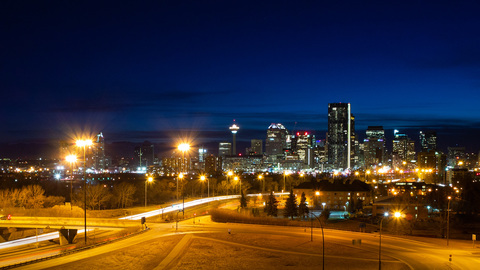 Calgary City View from Tom Campbell's Hill