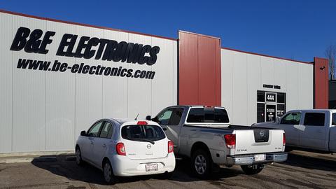B&E Electronics Calgary