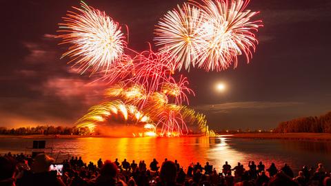 Globalfest Fireworks Festival Calgary