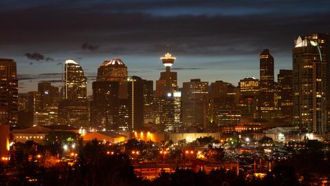 Calgary Tower Skyline